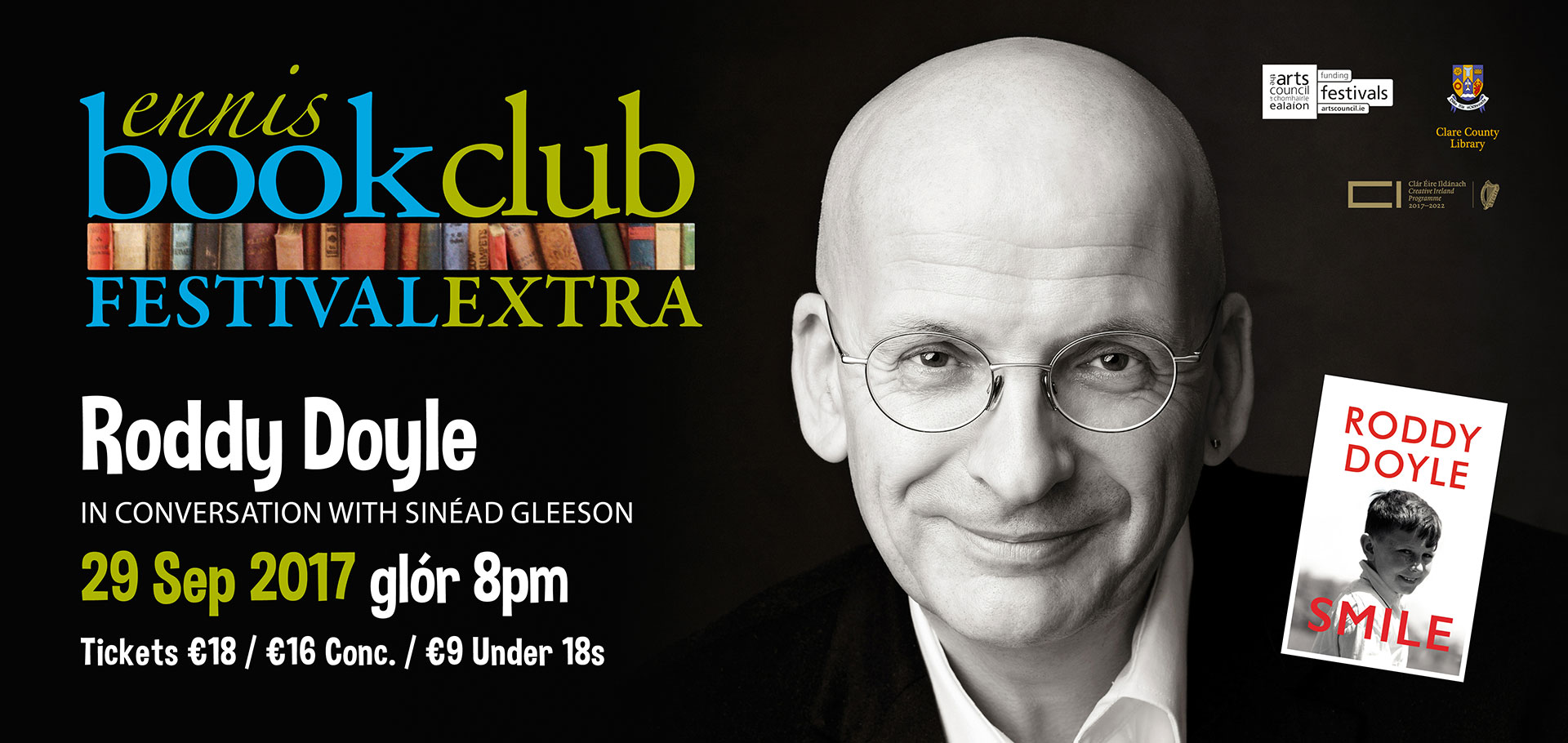 Roddy Doyle in Conversation with Sinéad Gleeson