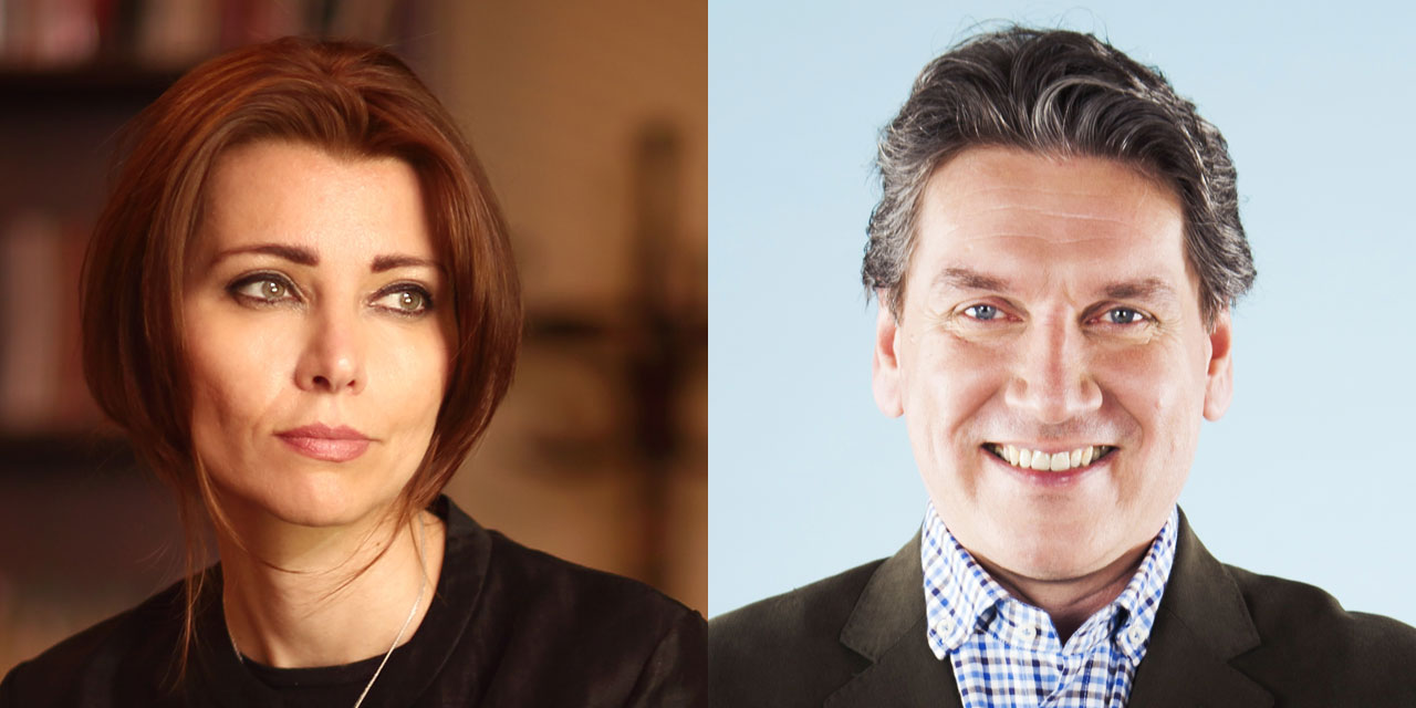 Elif Shafak in conversation with Seán Rocks