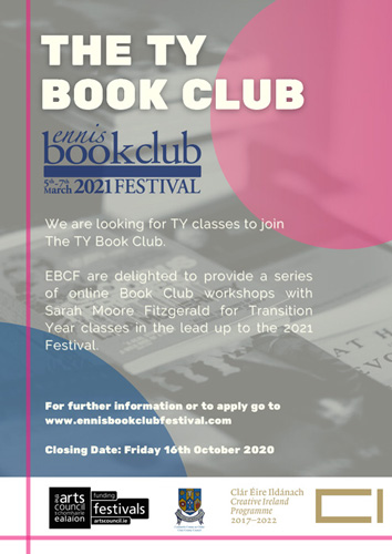 TY Book Club Poster